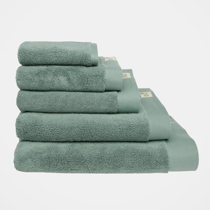"""**Australian House & Garden Australian Cotton Towel Range, $12-$55, [Myer](https://www.myer.com.au/p/australian-house-garden-australian-cotton-towel-range-in-gren