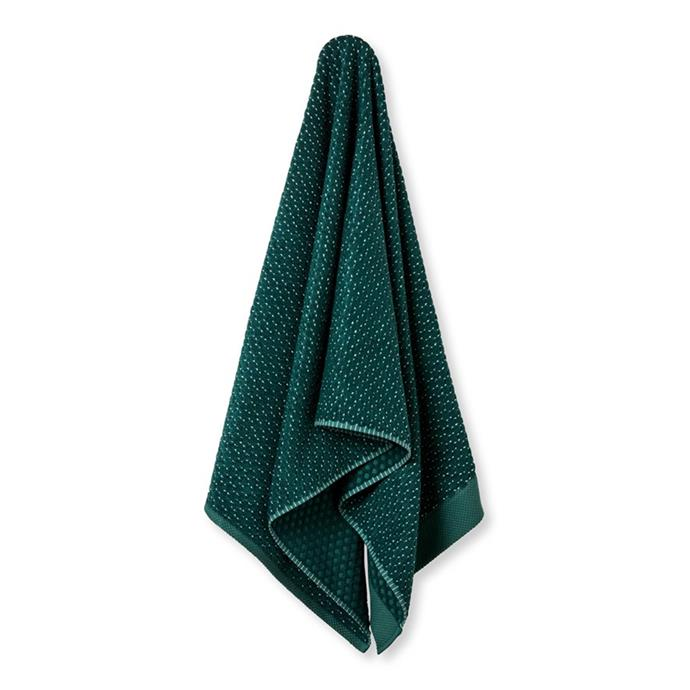 """**Home Republic Navara Textured Forest Cotton Bamboo Bath Towel, $49.99, [Adairs](https://www.adairs.com.au/bathroom/towels/home-republic/navara-textured-forest-cotton-bamboo-towel-separates/