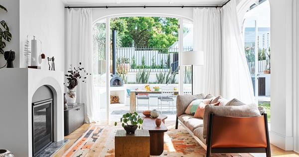 A historic California bungalow receives a contemporary renovation