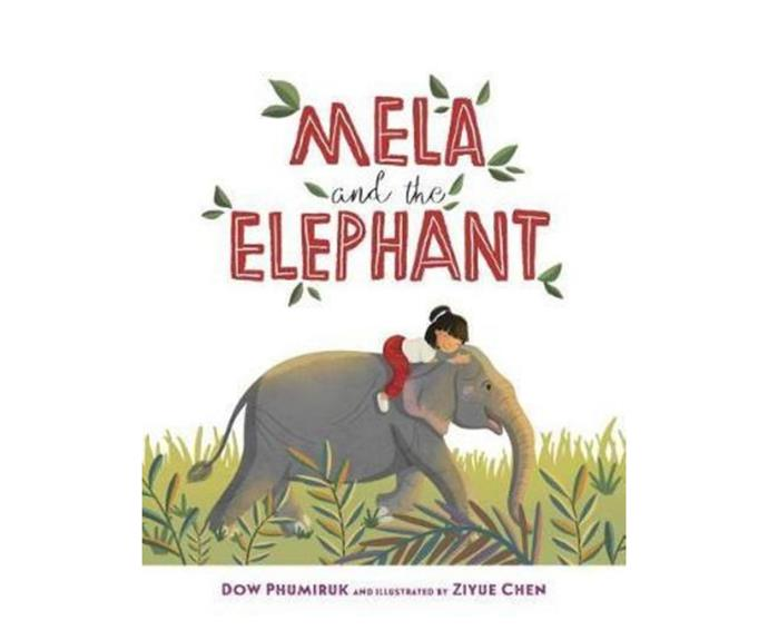 """**[Mila and the Elephant, $29.25 (hardcover), Booktopia](https://www.booktopia.com.au/mela-and-the-elephant-dow-phumiruk/book/9781585369980.html