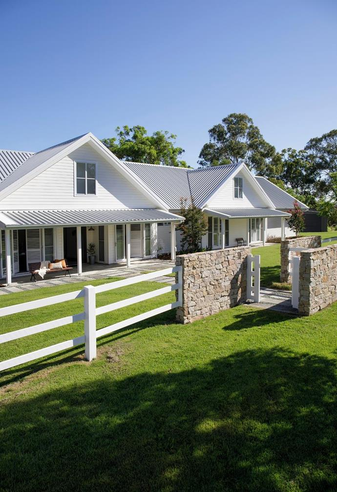 """Relocating to acreage gave the homeowners of this [modern farmhouse](https://www.homestolove.com.au/modern-farmhouse-build-hinterland-22527