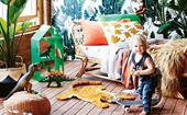 How to create a jungle themed kids' bedroom