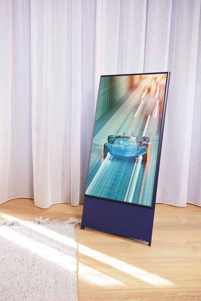 """[Samsung 43"""" The Sero QLED 4K Smart TV](https://www.nationalproductreview.com/au/the-new-lifestyle-range-of-home-entertainment-from-samsung/?utm_source=are_media&utm_medium=&utm_campaign=samsung_lifestyletvs_homestolove_advertorial