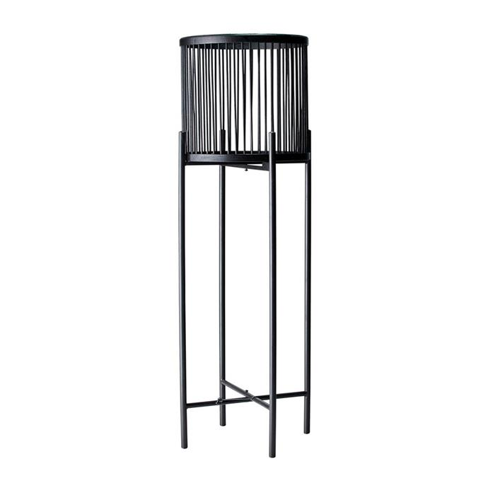 """**Salt&Pepper RHYTHM Plant Stand, $79.95, [Myer](https://www.myer.com.au/p/salt-pepper-rhythm-plant-stand-black-32x100cm