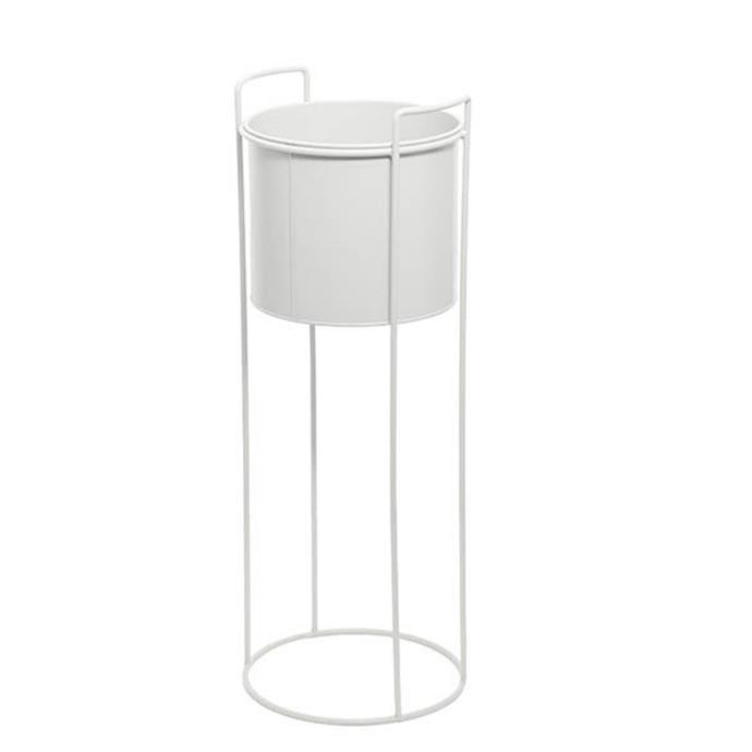 """**Metal Display Stand With Round Pot, $29.65, [Koch & Co](https://www.koch.com.au/buy/metal-display-stand-with-round-pot-white-23dx65cmh/191316wh