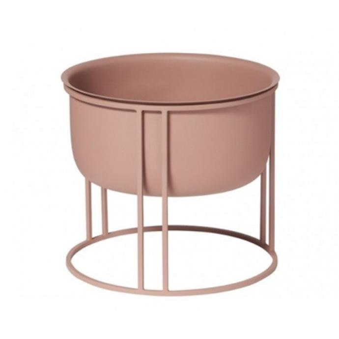 """**Leon Planter on Stand, $99, [Domayne](https://www.domayne.com.au/leon-planter-on-stand-dark-peach.html?CAWELAID=120050220000036969&gclid=CjwKCAjwzruGBhBAEiwAUqMR8C1m84VhZC0RzZUHh41QNaJ9cQROCzng0MPxYBnE0kleT3yBNH5C9RoCEzIQAvD_BwE&gclsrc=aw.ds