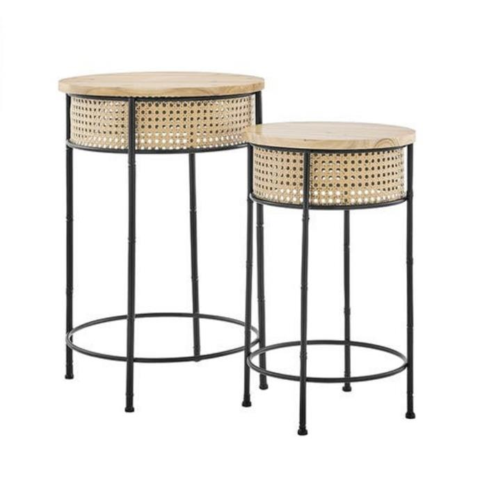"""**Shangri-La Isla 2 Piece Set Rattan Flower Pot Stand, $99.99, [Matt Blatt](https://www.mattblatt.com.au/mb/buy/shangri-la-isla-2-piece-set-rattan-flower-pot-stand-shangri-la/