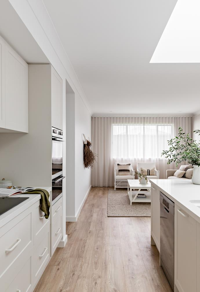 An open-plan kitchen, living and dining space was a necessity for the modern family-friendly cottage.