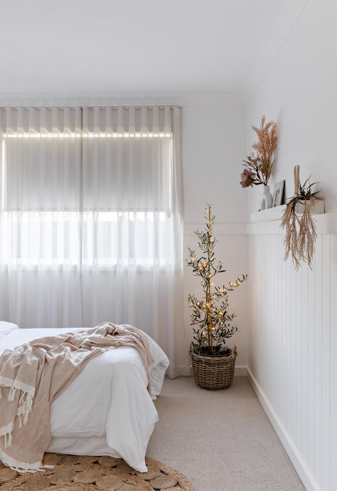 The four bedroom home also features three beautifully styled bedrooms to suit all families.