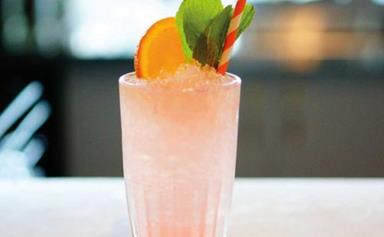 Lychee Ginger Rose cocktail recipe