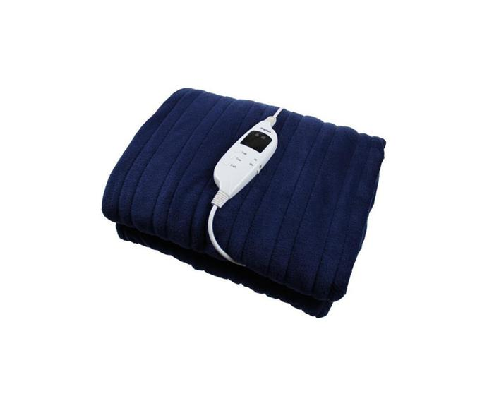 """Next time you're shopping for winter essentials, add this 'snuggle blanket' to your cart for a cosy homewares addition. It's ribbed texture and deep blue colour will make your winter blues disappear.   **Digilex Heated Throw Rug Electric Snuggle Blanket and Washable-Blue, $59, [Matt Blatt](https://www.mattblatt.com.au/mb/buy/power-pack-heated-throw-rug-electric-snuggle-blanket-and-washable-blue-tsk160x120-1sc-blue/