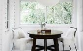 How to work with a white interior