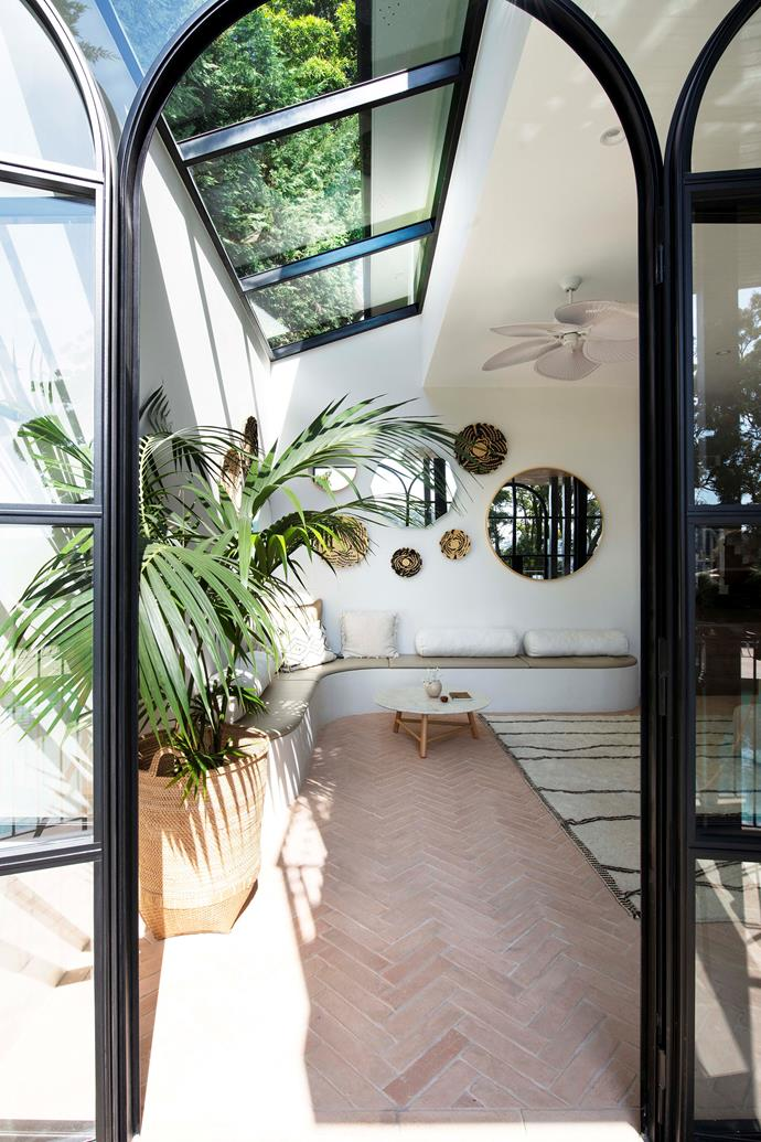 Guided by interior designer Mina Staples, Angela and Tristan have created a gorgeous social hub for family and friends with an assortment of global influences.