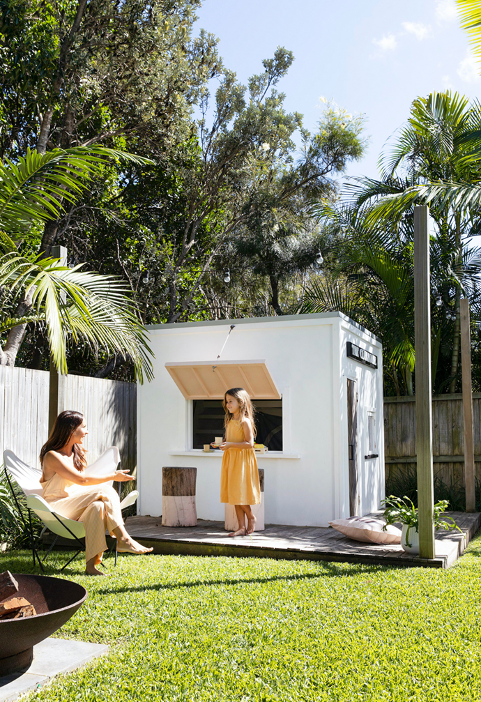 """This perfect cute cubby was built for Madison's third birthday, in the garden of her family's [light-filled abode on the coastal northern NSW coast](https://www.homestolove.com.au/coastal-home-northern-nsw-22199