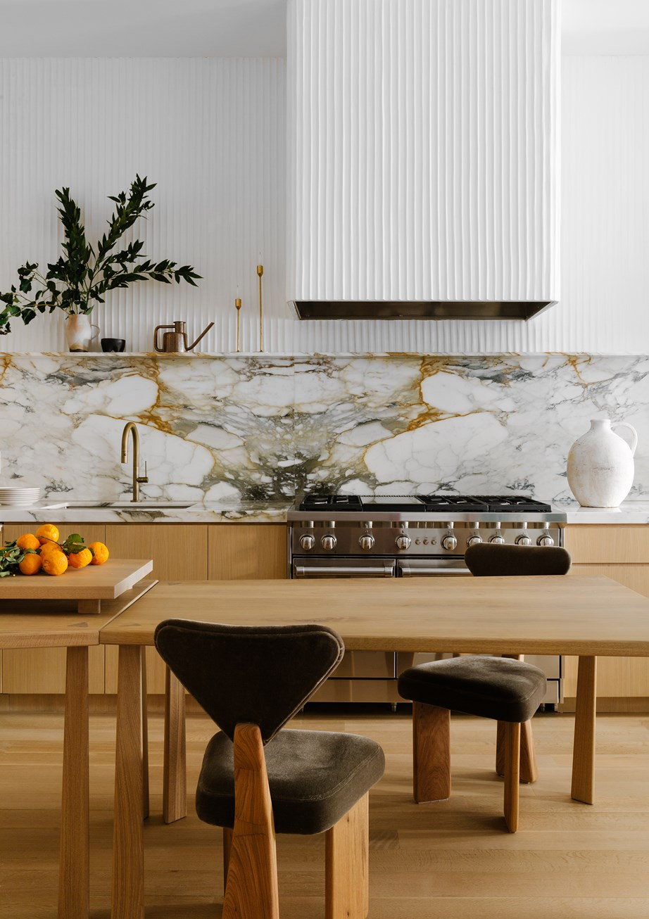 """Postcard from the future. In [this kitchen](https://www.homestolove.com.au/renovated-brownstone-townhouse-new-york-city-22805