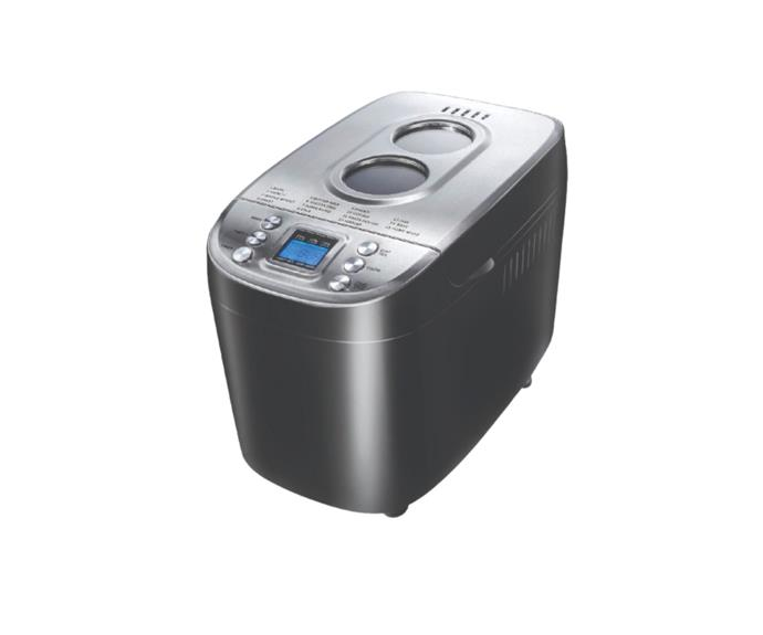 """[**Complete Home Bread Maker in black, $149.95, Catch.com.au**](https://www.catch.com.au/product/complete-home-bread-maker-black-7451252 target=""""_blank"""" rel=""""nofollow"""")<br> If you're used to making bread in the oven, it may take some time before you actually trust a bread maker to do its job. This unit features two large viewing windows, so you can see how your bread is doing without disrupting the cooking process. It also has 15 pre-set programs, 3 crust settings, even heat control and a non-stick pan."""