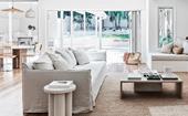 A coastal Sydney home with a crisp neutral scheme