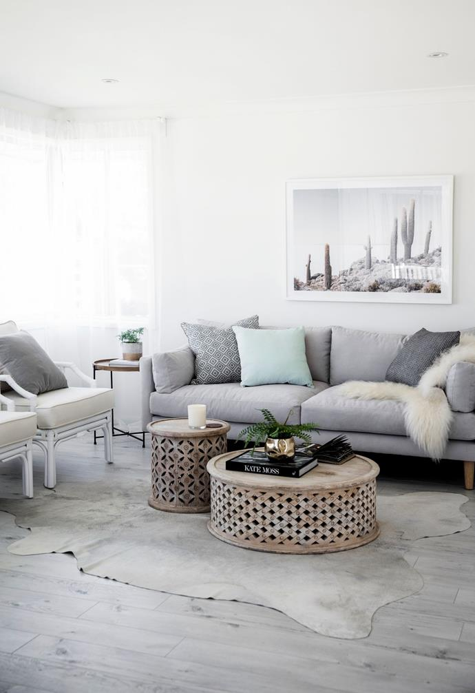 """In the [living room](https://www.homestolove.com.au/lounge-room-ideas-21182