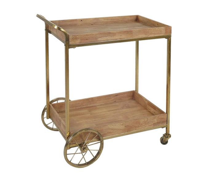 """**SLH Luxe Bar Cart, $399, [Zanui](https://www.zanui.com.au/Luxe-Bar-Cart-145477.html