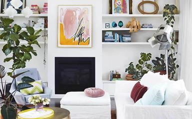 12 ways to decorate with plants on shelves