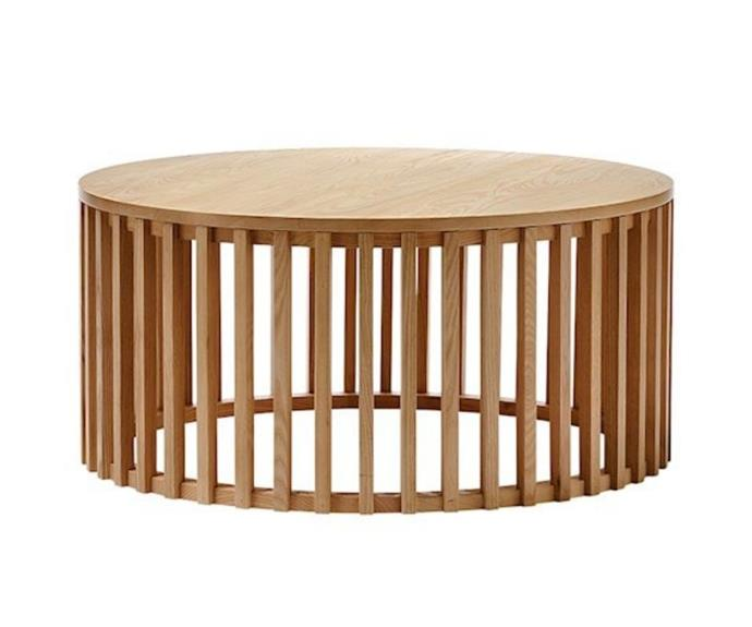 """**Mark Tuckey Slat Oak Coffee Table, $499.99, [Adairs](https://www.adairs.com.au/furniture/side-tables--coffee-tables/mark-tuckey/slat-oak-coffee-table/
