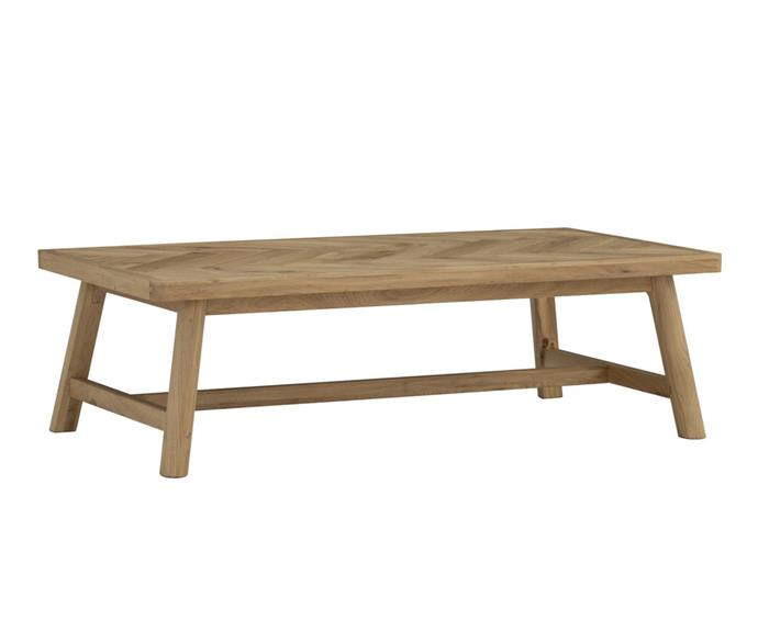 """**Suki Coffee Table, $634, [Zanui](https://www.zanui.com.au/Suki-Coffee-Table-163992.html