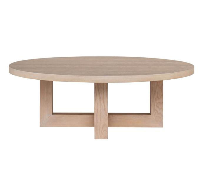 """**Cove Coffee Table, $699, [Freedom](https://www.freedom.com.au/product/24266215