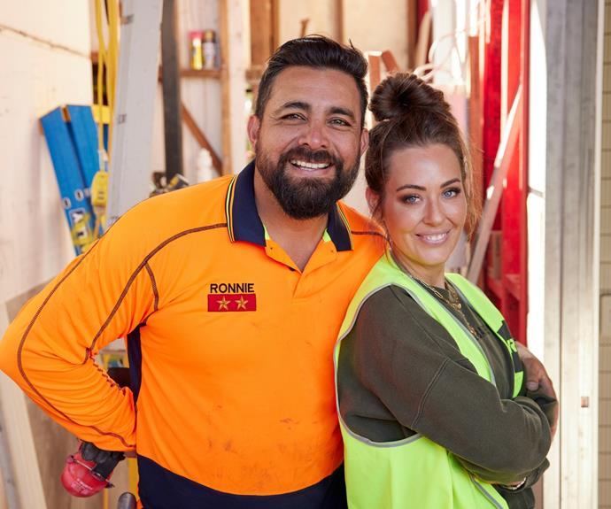Experienced renovators Ronnie and Georgia will be returning to The Block this year.