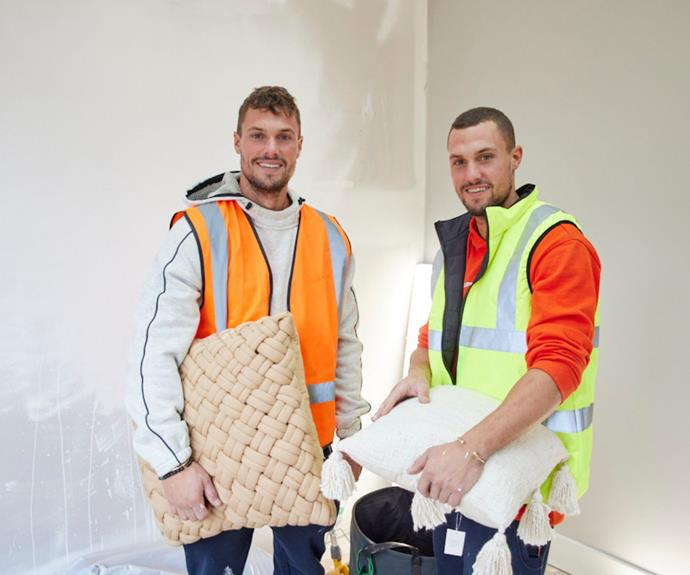 Identical twins and former *Love Island* contestants, Luke and Josh, will try their hand at renovating on this year's season of The Block.