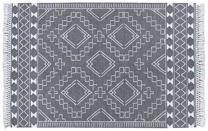 """**Zayn wool and polyester rug in Grey, 160x230cm, $399, [James Lane](https://www.google.com/url?q=https://www.jameslane.com.au/zayn-grey-floor-rug?SearchID%3D1076708%26SearchPos%3D1&sa=D&source=editors&ust=1626669025703000&usg=AOvVaw20Ak_bbVfyTmezoLWktRUv
