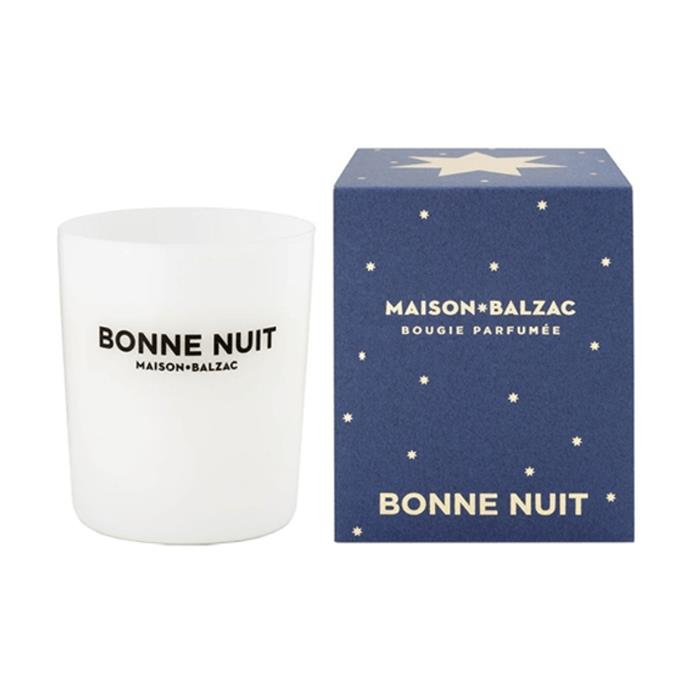 """**Maison Balzac Bonne Nuit Candle 300g, $69, [Adore Beauty](https://www.adorebeauty.com.au/maison-balzac/maison-balzac-bonne-nuit-candle-large.html
