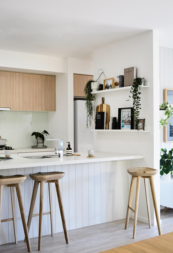 """Jamie and Az's [island bench](https://www.homestolove.com.au/15-game-changing-kitchen-islands-for-your-renovation-13253