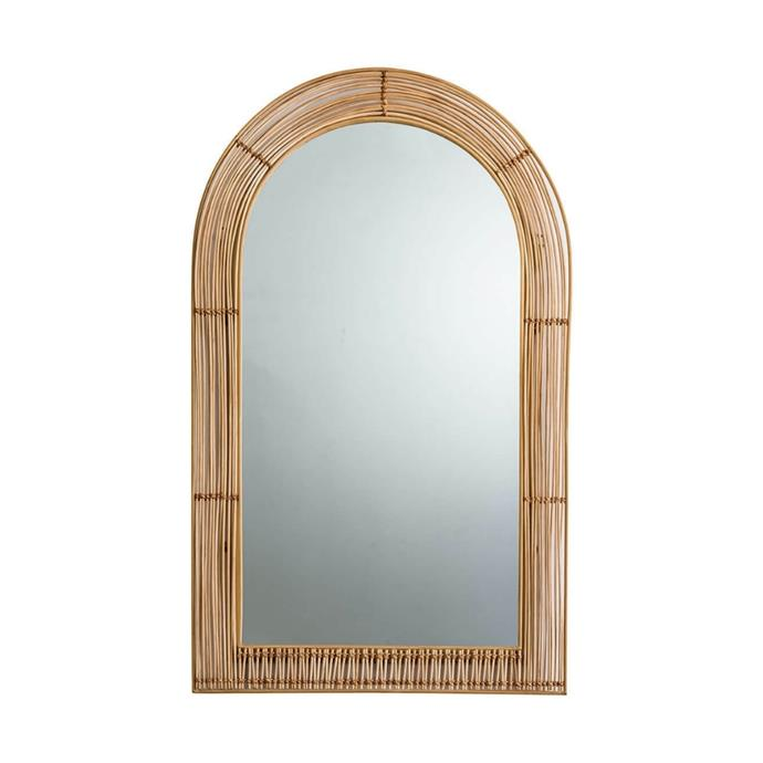 """**Cane Arch Mirror, $259, [Freedom](https://www.freedom.com.au/product/24293280