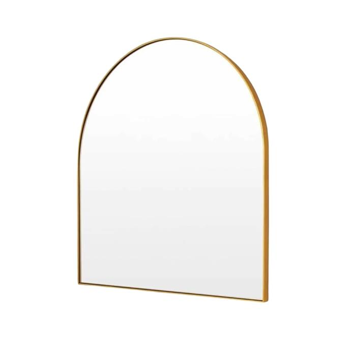 """**Middle of Nowhere Bjorn Arch Mirror, $374, [RJ Living](https://www.rjliving.com.au/buy-bjorn-arch-mirror-brass.html