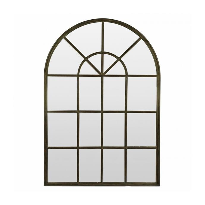 """**Arch paned mirror, $795, [Interiors Online](https://interiorsonline.com.au/products/arch-paned-mirror