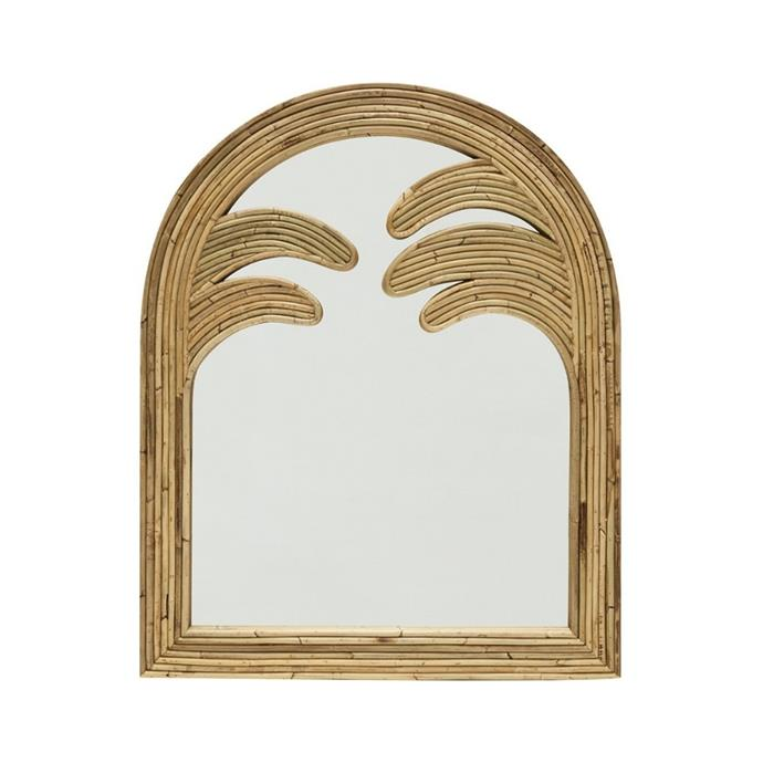 """**Sarah Ellison Gabriella Mirror, $795, [Life Interiors](https://lifeinteriors.com.au/collections/mirrors/products/sarah-ellison-gabriella-mirror