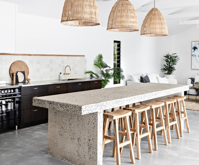 Modern kitchen in a holiday rental, The Pause Gerringong