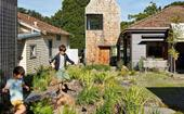 A sustainable home extension that resembles a small village