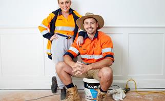 Kirsty and Jesse on The Block 2021