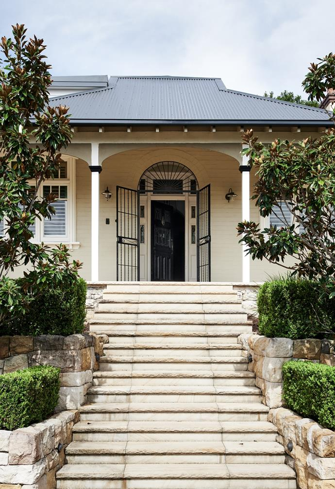Layers of contemporary and classic whites create a welcome home in Sydney's north for British-born Rachel, her husband Rolf and their three daughters Issey, 13, Tilly, 12 and Henrietta, 9.