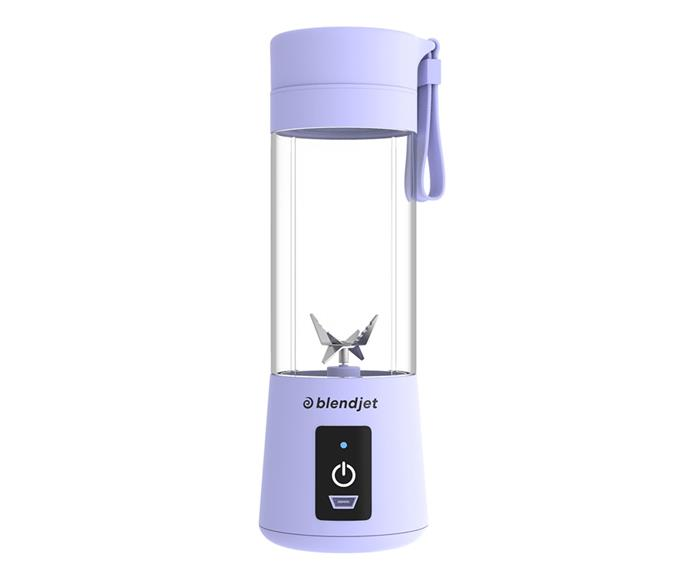 """**[Blendjet One portable blender, $111.95, Blendjet](https://blendjet.com/products/blendjet-one?variant=15980217106498 target=""""_blank"""" rel=""""nofollow"""")** <br></br>  Say goodbye to clumpy protein shakes and manual protein shakers that don't allow you to mix in in your favourite fruits on-the-go, by picking up a portable yet powerful blender from BlendJet. Perfect for gym days, picnics and everything in between, this bottle is BPA free and has in-built safety features that prevent the blade spinning when the jar isn't connected to the base. Can be used for about 10 blends per charge and comes with a USB charging cable. Also available in the colours mint, and hot pink."""