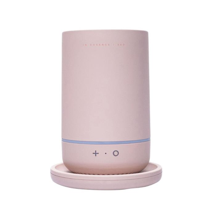 """**In Essence 360 Diffuser, $199.95, [Myer](https://www.myer.com.au/p/in-essence-360-diffuser-blush