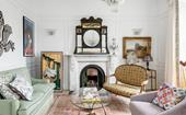 The lavish and whimsical home of an interior designer