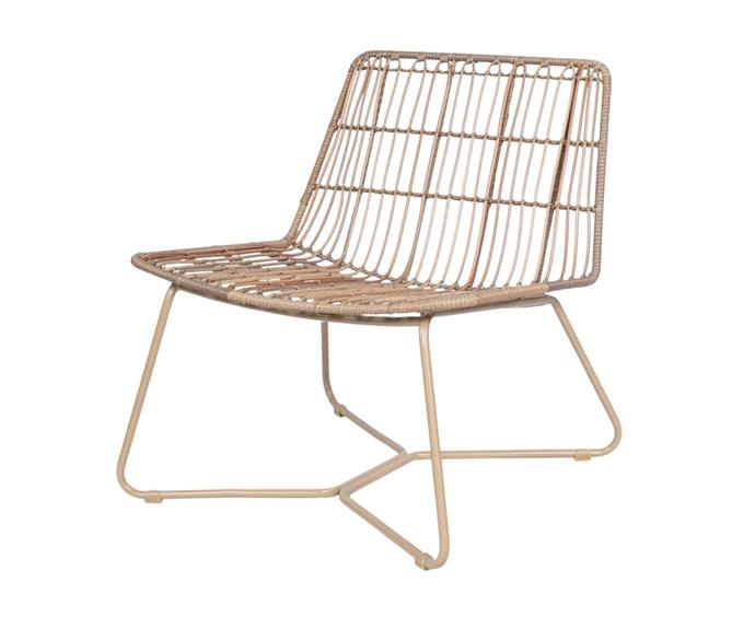 """Does your living room need more seating? Perhaps your outdoor living area could do with a style overhaul? Kmart's lightweight **[woven lounge chair, $79](https://www.kmart.com.au/product/woven-lounge-chair/3710308