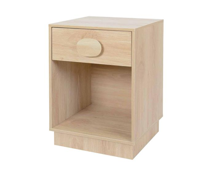"""Update the look of your bedroom with a pair of **[capsule bedside tables, $29](https://www.kmart.com.au/product/capsule-bedside-table/3612333