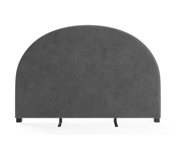 """**[Arch bed head in cosmic anthracite, $599 (King size), Brosa](https://www.brosa.com.au/products/arch-king-size-bed-head