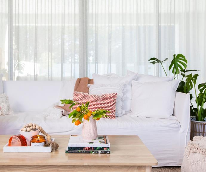 """Give your [living room a revamp](https://www.homestolove.com.au/lounge-room-ideas-21182 target=""""_blank"""") with new stylish homewares."""