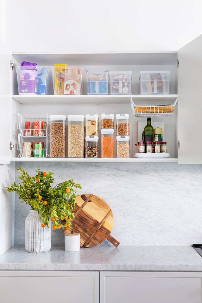 """Is it time you gave your [pantry a makeover](https://www.homestolove.com.au/tips-for-organising-your-pantry-3461 target=""""_blank"""")?"""