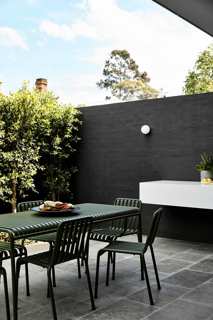 Hay 'Palisade' outdoor dining setting from Open Room.
