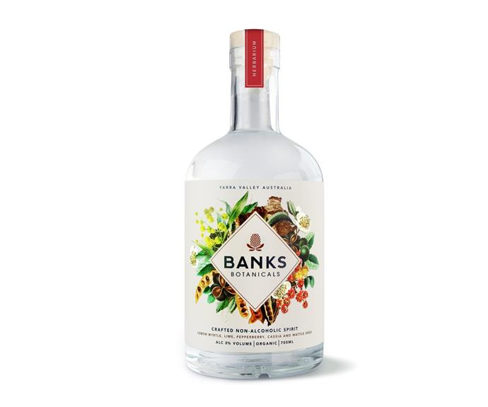 """**[Banks Botanicals Non Alcoholic Spirit 700mL, $49.99, Dan Murphys](https://www.danmurphys.com.au/product/DM_171487/banks-botanicals-non-alcoholic-spirit-700ml